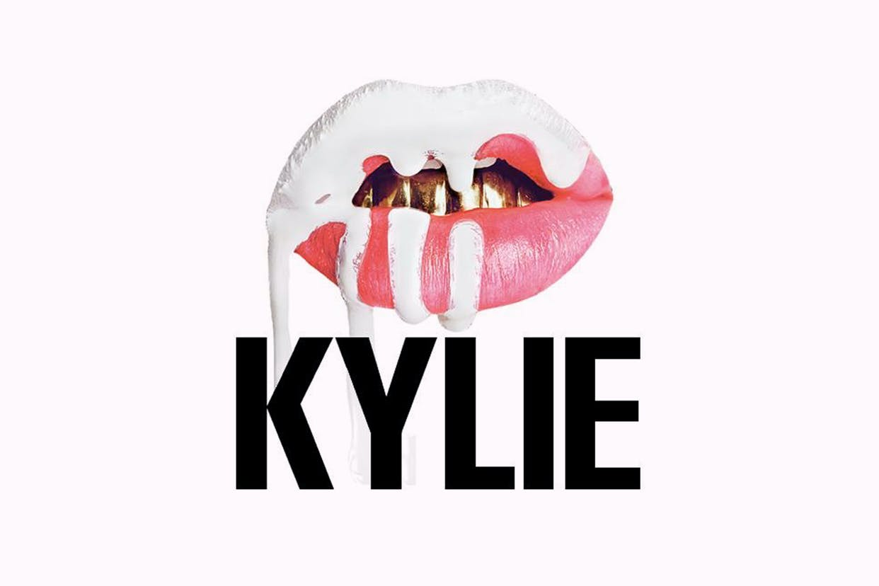 Kylie Cosmetics logo on white background