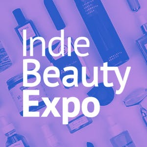 The logo of Indie Beauty Expo 2020