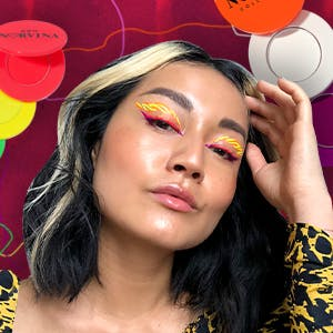 Beauty writer reviews and demos Anastasia Beverly Hills neon liners
