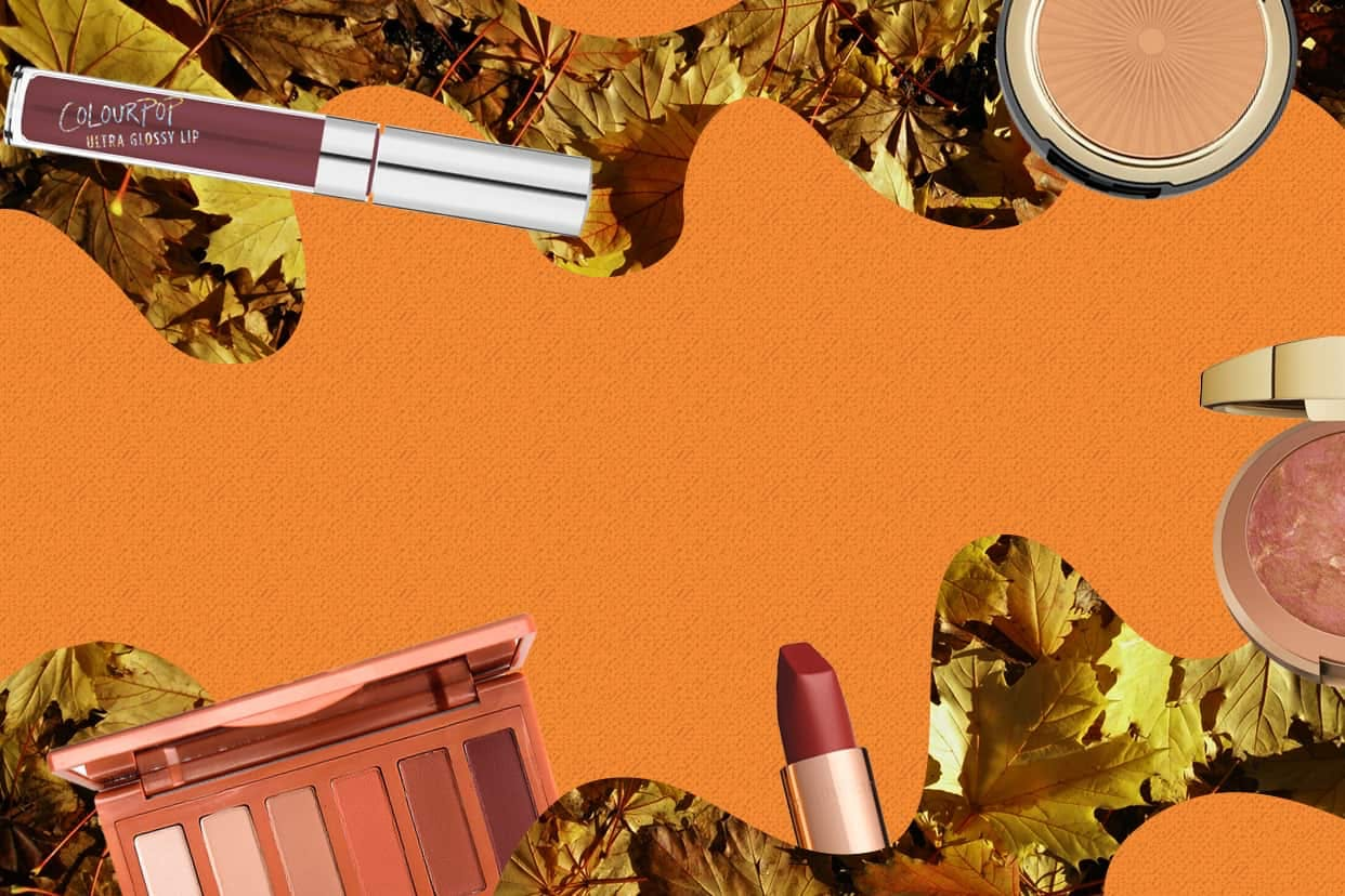 Fall makeup products
