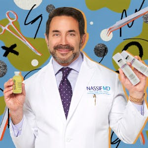Dr Paul Nassif with his skincare line